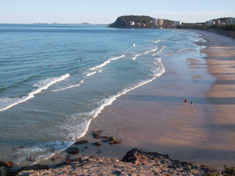 Burleigh Beach, QLD Australia
